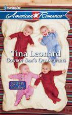 Cowboy Sam's Quadruplets by Tina Leonard