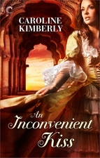 An Inconvenient Kiss by Caroline Kimberly