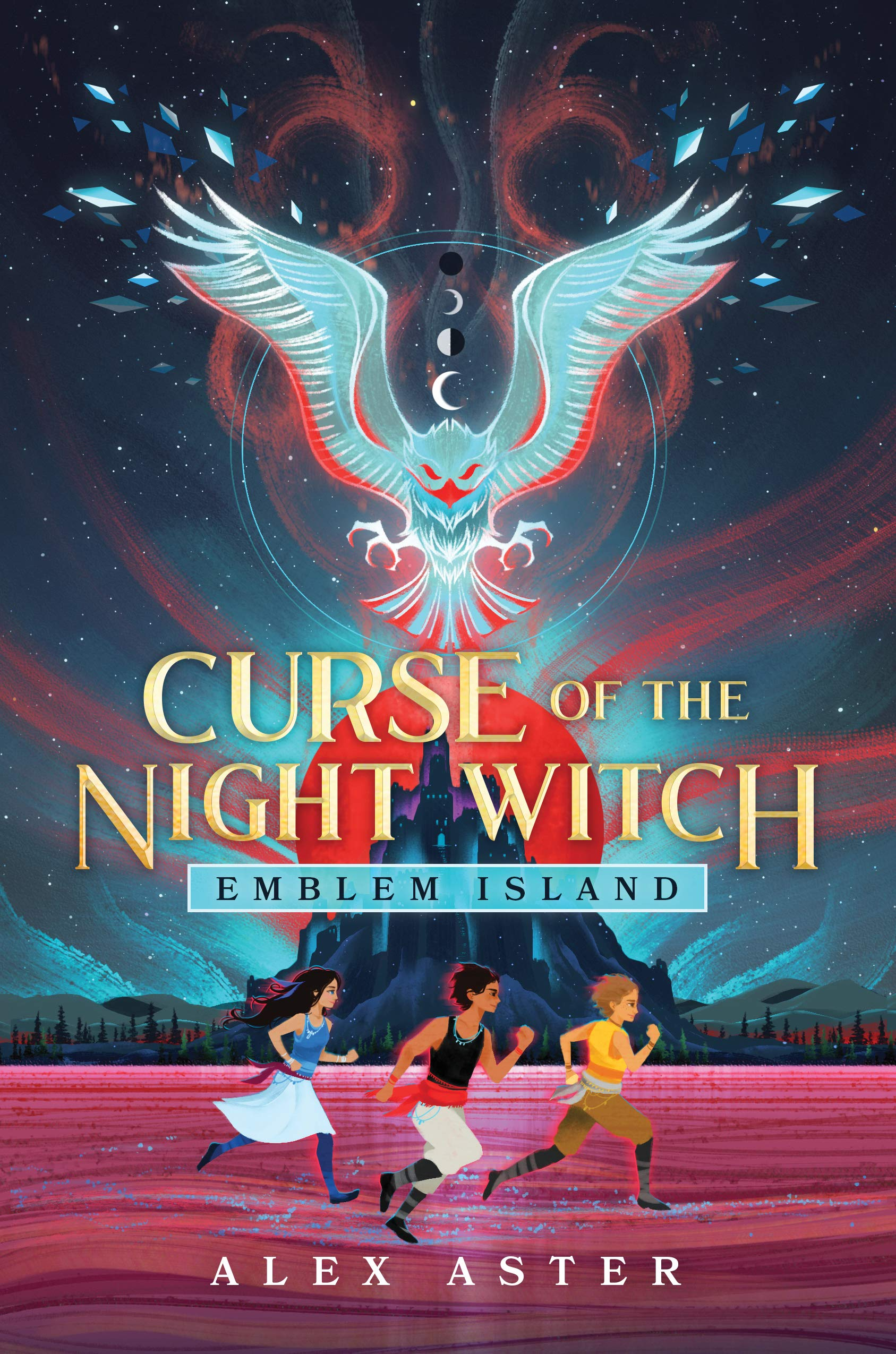 Emblem Isle: Curse of the Night Witch by Alex Aster